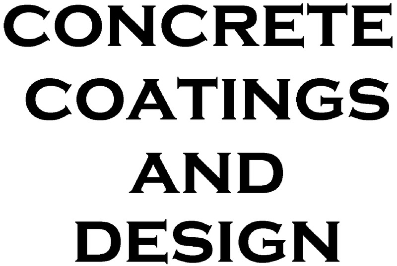 Concrete Coatings and Design